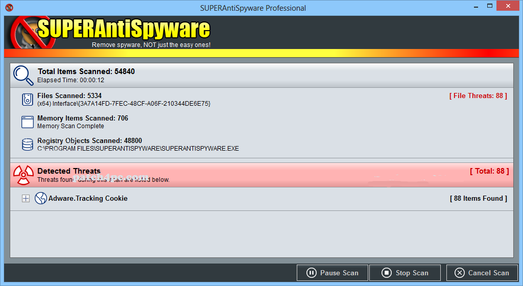 SUPERAntiSpyware Professional 8.0.1050 With Key 2020 Free Download