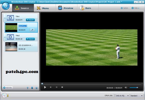 Wondershare DVD Creator 6.3.1.173 Crack + Keygen 2020 Free Download